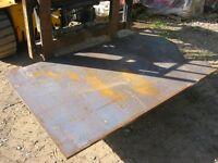 Steel plate- 18mm x 1.0 x 1.5m