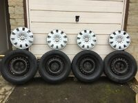 T5 Wheels and Tyres
