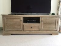 Washed oak living room furniture 6 items AS NEW