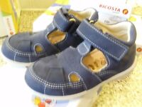 Kids shoes by RICOSTA (Blue) Sizes 1.5 / 2 , 3.5, 6 , 7 .