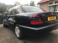 "VERY RARE "" MERCEDES BENZ C180 CLASSIC MANUEL LOVELY CONDITION DRIVES GREAT"