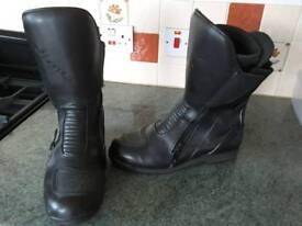 Men's motorbike boots size 8