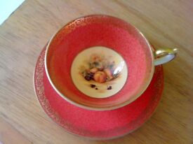 Aynsley Fine Bone China Cabinet Cup and Saucer