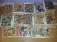 Massive Joblot of 750 Comics : 1940's - 1990's : Marvel , DC etc