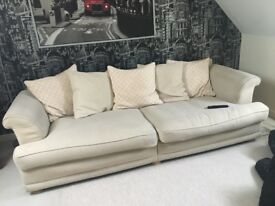4 seater sofa - goood condition - FREE