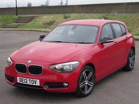 2012 (12 reg), BMW 1 Series 2.0 116d Sport 5dr