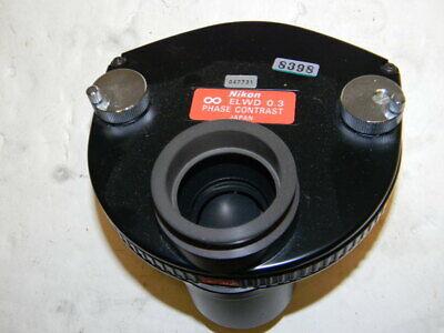 Nikon Elwd 0.3 Phase Contrast Condenser A Phl Ph1 Ph2 C Positions