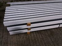 Roof Sheets - Galvanised Corrugated Roofing CI Sheets Unused 10' LONG