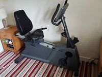 exercise bike, recumbent, Vision Fitness HRT R2600