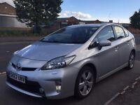 Toyota Prius 1.8 VVT-i Hybrid T Spirit CVT, 5dr, long mot, very clean in & out, run very smooth,