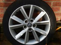 skoda 16 inch alloy wheels with tyres