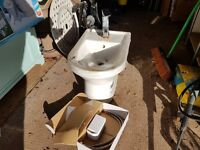 Bidet and Fitting (New unused)