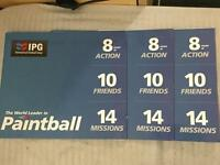 30 Paintballing Tickets with IPG