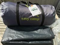 5 person tent, Easy camp huntsville 500 and Footprint.