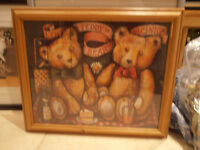 Picture of Teddy Bears Picnic - wooden frame