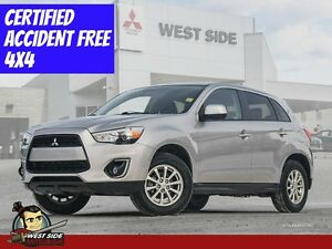 2015 Mitsubishi RVR SE-4WD-2.0L–Heated seats-Only $56/Weekly.