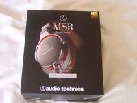 Audio Technica ATH-MSR7 Hi Res Audio Headphones brand new boxed.