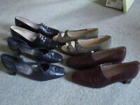 Elmdale Ladies Size 7 Shoes x 4 pairs