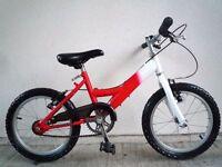 "(1560) 16"" 10"" SALCANO Boys Girls Kids Childs BIKE BICYCLE Age: 5-7 Height: 110-125 cm"