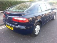 RENAULT LAGUNA DIESEL 53 PLATE MOTED A/C ALLOYS SUPERB WORKHORSE