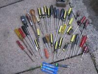 job lot assorted screwdrivers