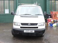 The relatively rare 'upgraded' version of the T4 van with the slanted headlights, 2003, low mileage