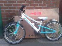 NEW Falcon Kids Childrens 20″ Wheel Full Suspension Mountain Bike - RRP £165