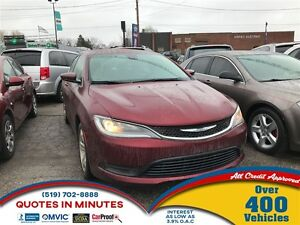 2015 Chrysler 200 LX | GET PRE-APPROVED ON THIS VEHICLE | 5SD.CA