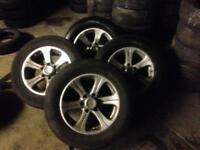 "MITSUBISHI SHOGUN PAJERO 17"" ALLOY WHEELS"