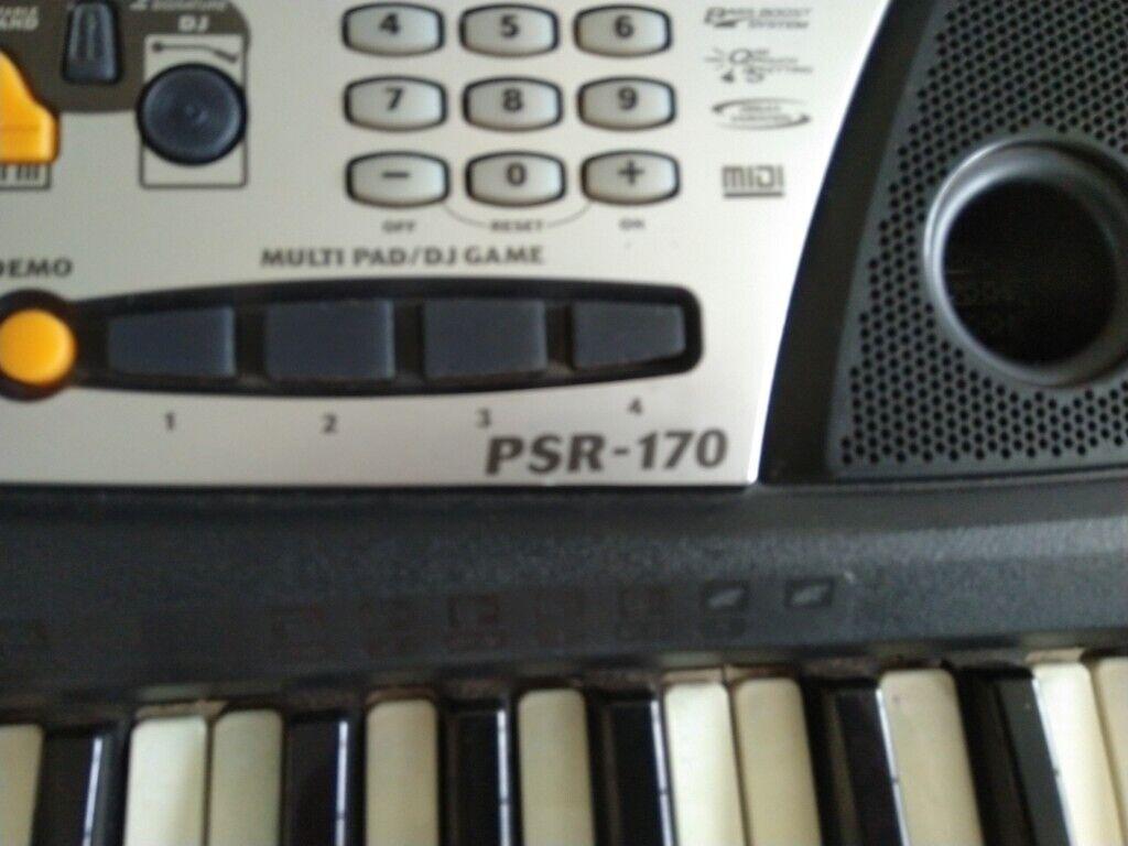 Yamaha PSR170 keyboard | in Chester Le Street, County Durham | Gumtree