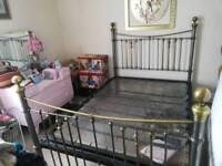 Original victorian double bed