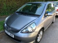 Honda Jazz SE CVT 1339cc Petrol Automatic 5 door hatchback 57 Plate 15/01/2008 Grey