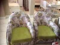 2 new arm chairs can be delivered