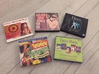 5 x CD box sets, 14 CDs total,excellent party mixes!