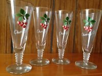 Cherry B glasses - set of 4