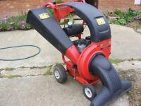 MTD 80 CHIPPER/ VAC 8hp Petrol Garden Wood Chipper Shredder**Leaf Vac**