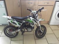 Kids 49cc moto bike