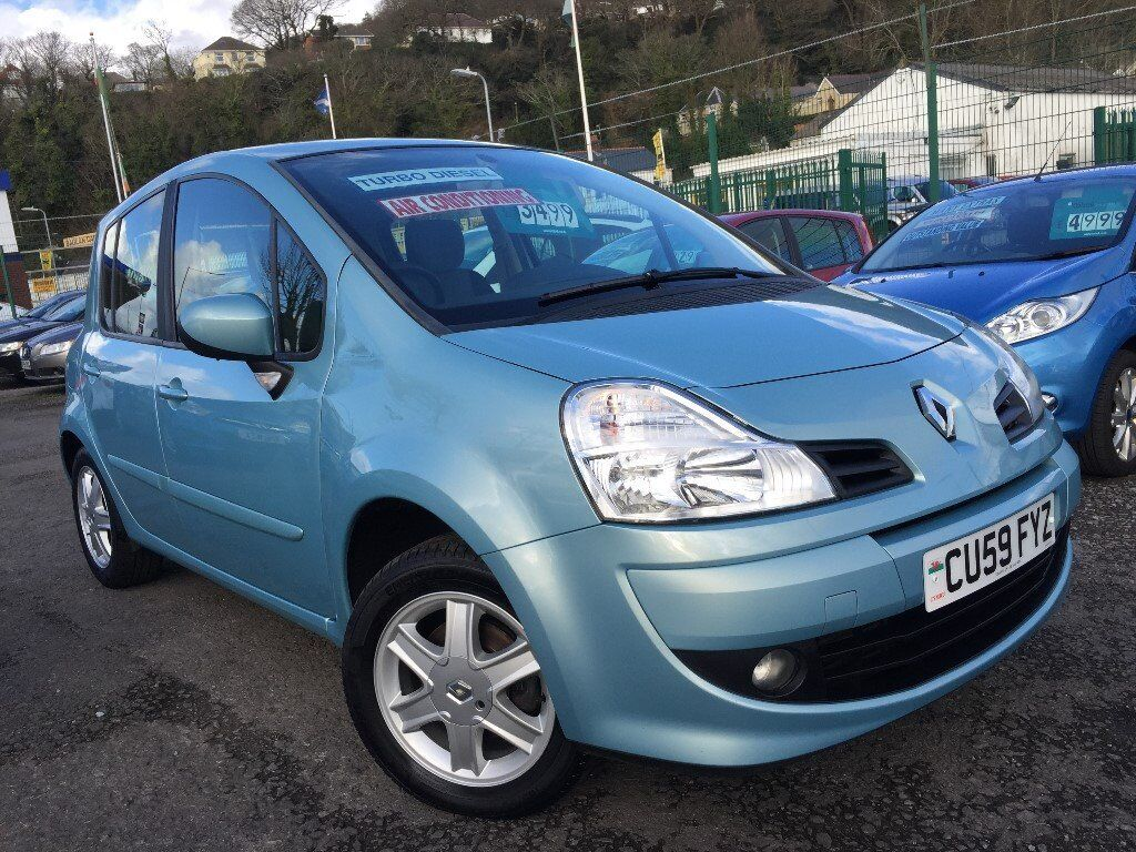 2010 59 Renault Modus 1.5 dCi Dynamique 5dr 5 Speed Manual Turbo Diesel