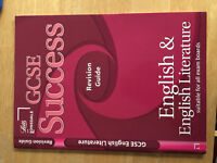 Letts and Lonsdale GCSE Success English and English Literature - All Exam Boards