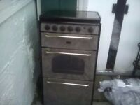 Motorhome gas cooker
