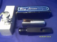 A BERG LARSEN TENOR SAX MOUTHPIECE . NEVER , EVER BEEN PLAYED In ORIGINAL B/L BOX .