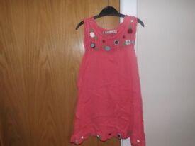 Girls Jumper Dress Age 4-5