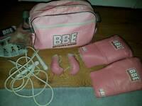 Pink boxing kit