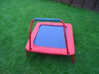 Junior/Toddler Trampoline - suitable for indoor and outdoor use. Age 3+ GALT.