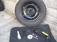 Spare Wheel for Ford Fiesta