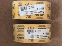 Mirka sanding belts brand new the is 9x 80grit and 10 x 100grit