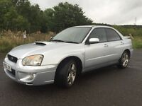 blobeye Subaru Impreza WRX Turbo 53 plate low milage and long MOT (no advisories)