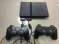 Sony PlayStation 2 PS2 with free games. Good working order console. Gran Turismo 4 Hulk. Spider-Man