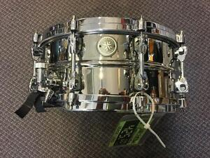 Tama starphonic snare 14x5 chrome over brass/Laiton chromé A1