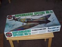 Airfix kit for sale in Southport. Supermarine Spitfire Mk 1A 124 model kit. large
